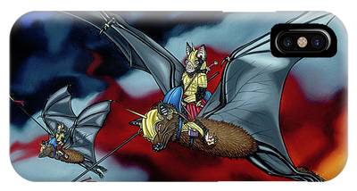 The Bat Riders IPhone Case