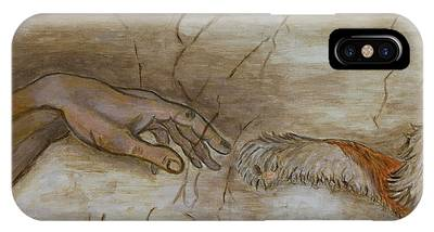 The Creation Of Humanity IPhone Case