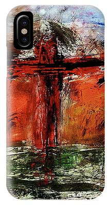 The Crucifixion #1 IPhone Case by Michael Lucarelli