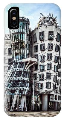 IPhone Case featuring the photograph The Dancing House by Kevin McClish
