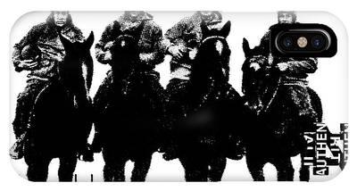 The Four Horsemen Of Notre Dame IPhone Case