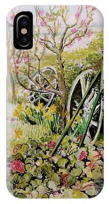 Watercolour Garden Phone Cases