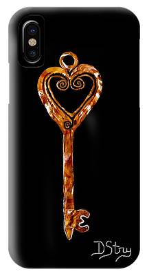 The Golden Key IPhone Case