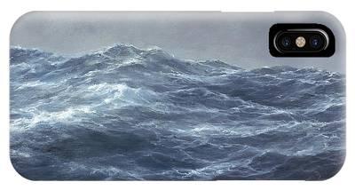 Turbulent Skies iPhone Cases
