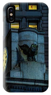 The Herald Square Owl IPhone Case