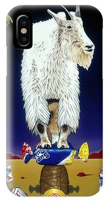 The Intoxicated Mountain Goat IPhone Case