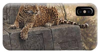 The Jaguar King IPhone Case