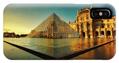 The Louvre Museum IPhone Case