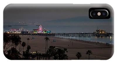 The Pier After Dark IPhone Case