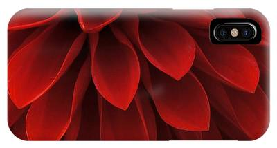 IPhone Case featuring the photograph The Reddest Red by Patricia Strand