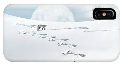 The Silver Fox IPhone Case