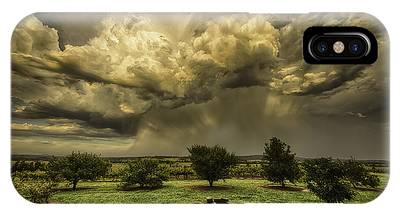 IPhone Case featuring the photograph The Storm by Chris Cousins