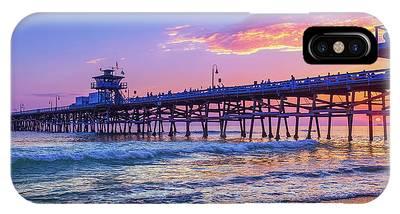 There Will Be Another One - San Clemente Pier Sunset IPhone Case