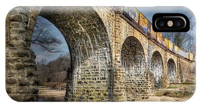 IPhone Case featuring the photograph Thomas Viaduct Panoramic by Dennis Dame