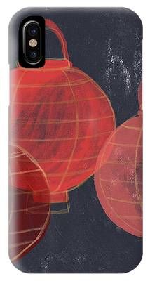 China Town Paintings iPhone Cases