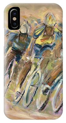 Bicyclist Phone Cases