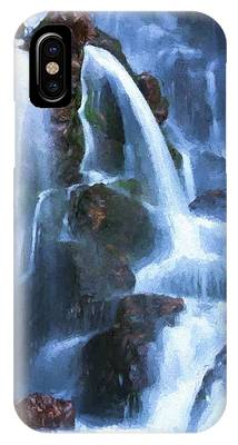 Timberline Falls IPhone Case