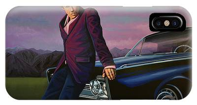 Dracula Paintings iPhone Cases