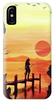 Tomb Raider IPhone Case