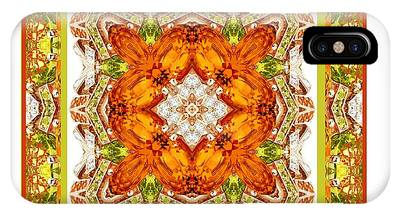 Topaz And Peridot Bling Kaleidoscope IPhone Case