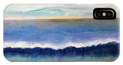 IPhone Case featuring the painting Tranquil Seas by Kim Nelson