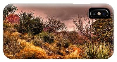 Traveling The Trail At Red Rocks Canyon IPhone Case