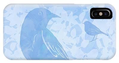 Tree Birds I IPhone Case