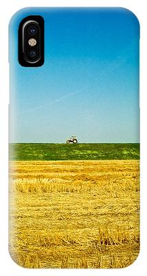 Tricolor With Tractor IPhone Case