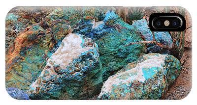 Turquoise Rocks IPhone Case