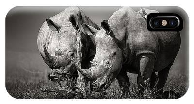 Rhinocerus IPhone Cases