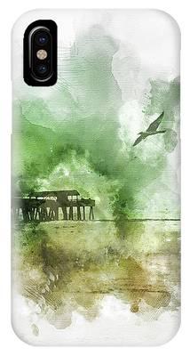 Tybee Island Pier Georgia IPhone Case