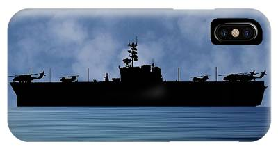 Amphibious Assault Ship Phone Cases