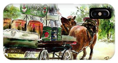 Victoria Bitter, Working Clydesdales. IPhone Case