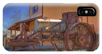 Steam Tractor Phone Cases