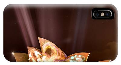 IPhone Case featuring the photograph Vivid Opera House by Chris Cousins