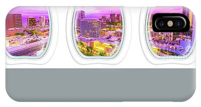 IPhone Case featuring the photograph Waikiki Porthole Windows by Benny Marty