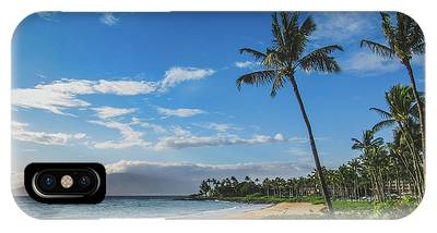 IPhone Case featuring the photograph Wailea Beach by Andy Konieczny