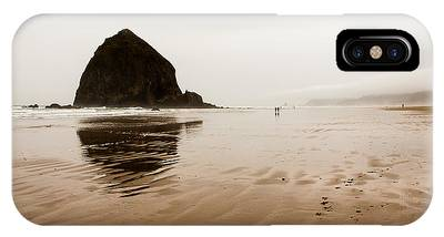 Walking The Wet Sand IPhone Case