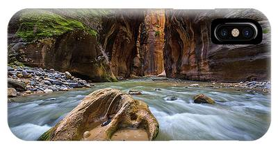 Wall Street Of The Narrows IPhone Case