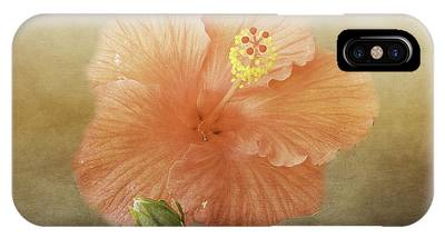 Warm Hibiscus IPhone Case