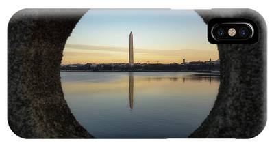 IPhone Case featuring the photograph Washington Monument by Brad Wenskoski