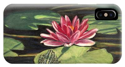 Water Lily Patio IPhone Case