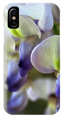 Wisteria White And Purple IPhone Case
