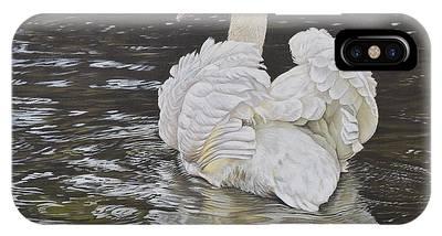 White Swan IPhone Case