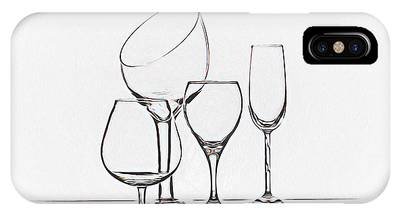 Wineglass Phone Cases