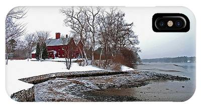 Winter At Perkins House  IPhone Case
