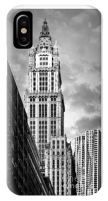 IPhone Case featuring the photograph Woolworth Building by Juergen Held