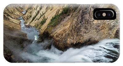 Yellowstone Falls IPhone Case