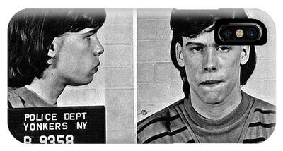 Young Steven Tyler Mug Shot 1963 Pencil Photograph Black And White IPhone Case