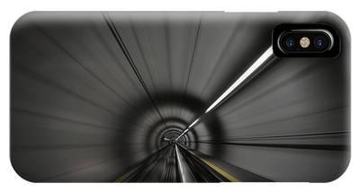 Zooming Along In The Tunnel Of Hope IPhone Case